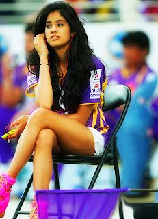 Sridevi Daughter Tanvi Latest Hot Photos at CCL 3 Match