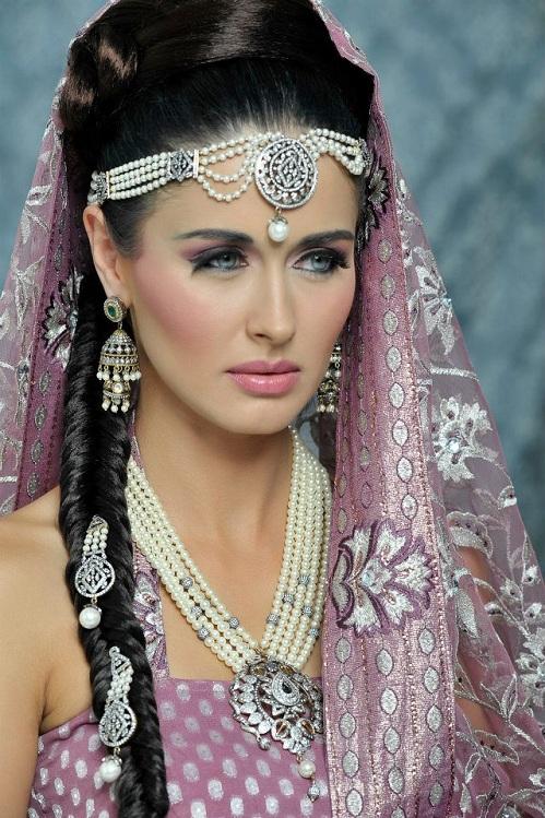 Indain Bridal Makeup 2013 L Makeup For Indian Bridal Collection 2013