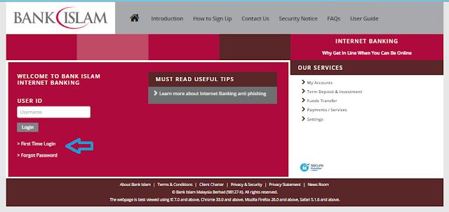 laman utama bank islam