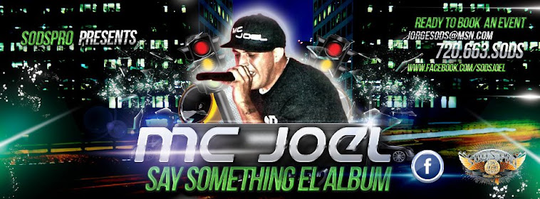 MC Joel - Say Something Album
