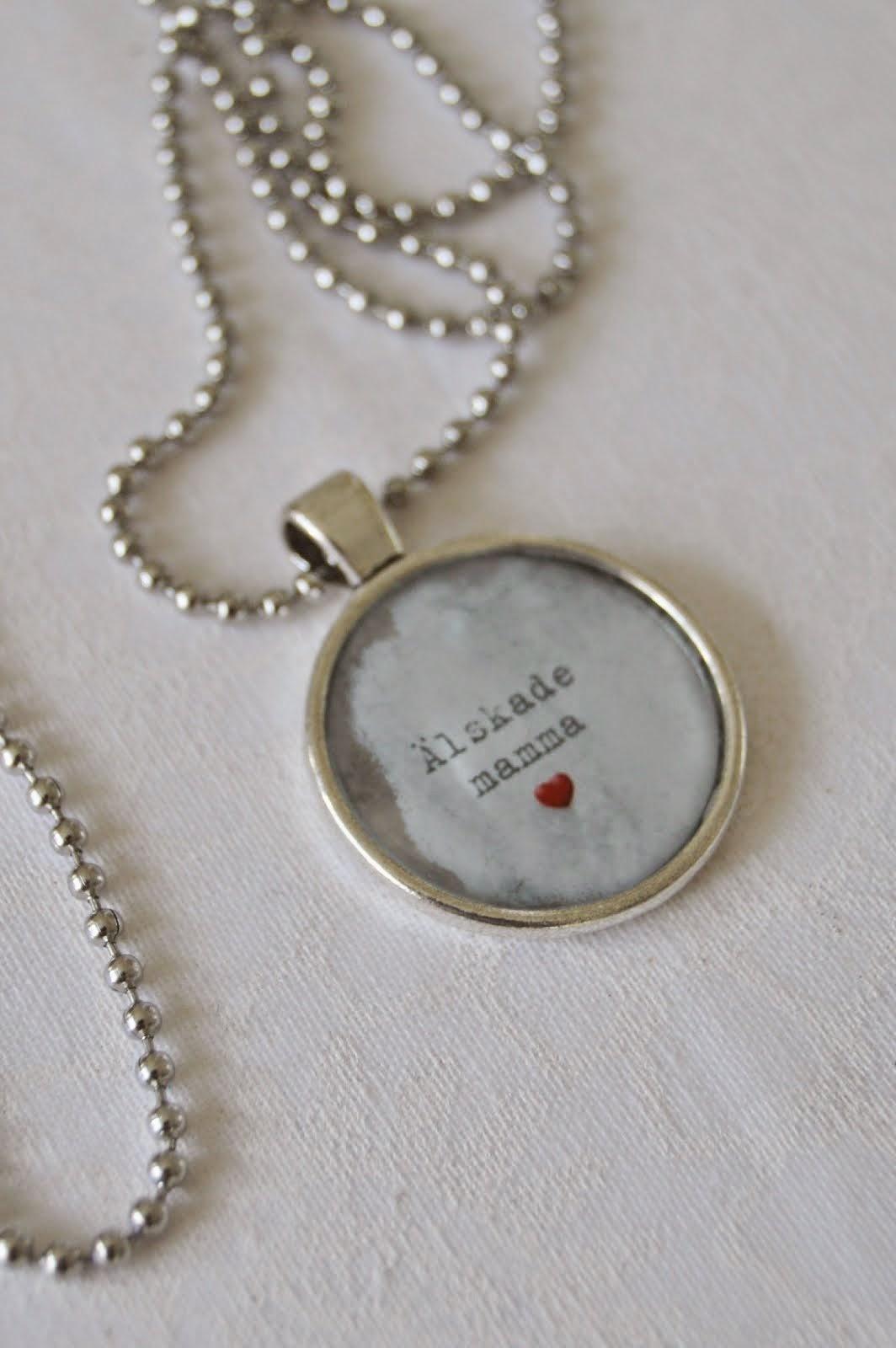Present från mina älskade tre barn!
