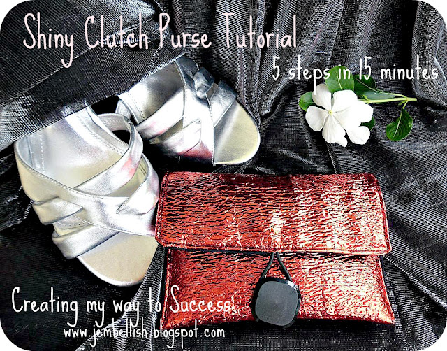 Shiny Clutch Purse