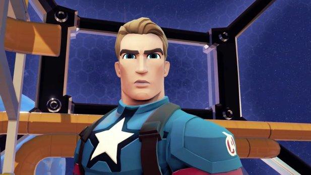 Disney Infinity 30 Marvel Battlegrounds