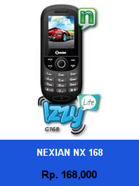 Daftar HP Murah Nexian NX 168 - wedhanguwuh.com