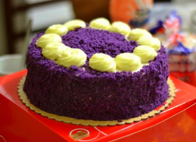 Red Ribbon Ube Cake Price