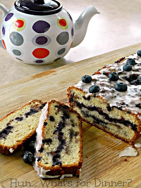 Blueberry Fritter Bread- Hun... What's for Dinner?
