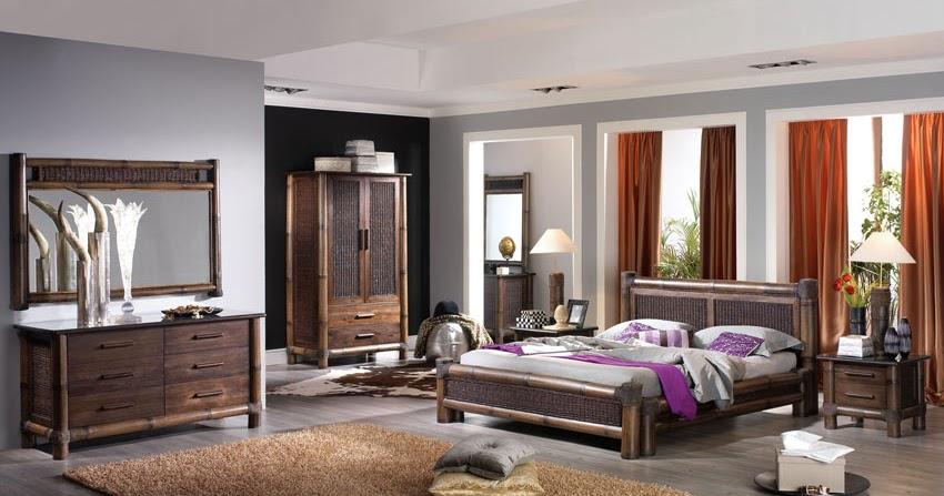 Lit bambou rotin de haut gamme t te de lit for Chambre complete adulte haut de gamme