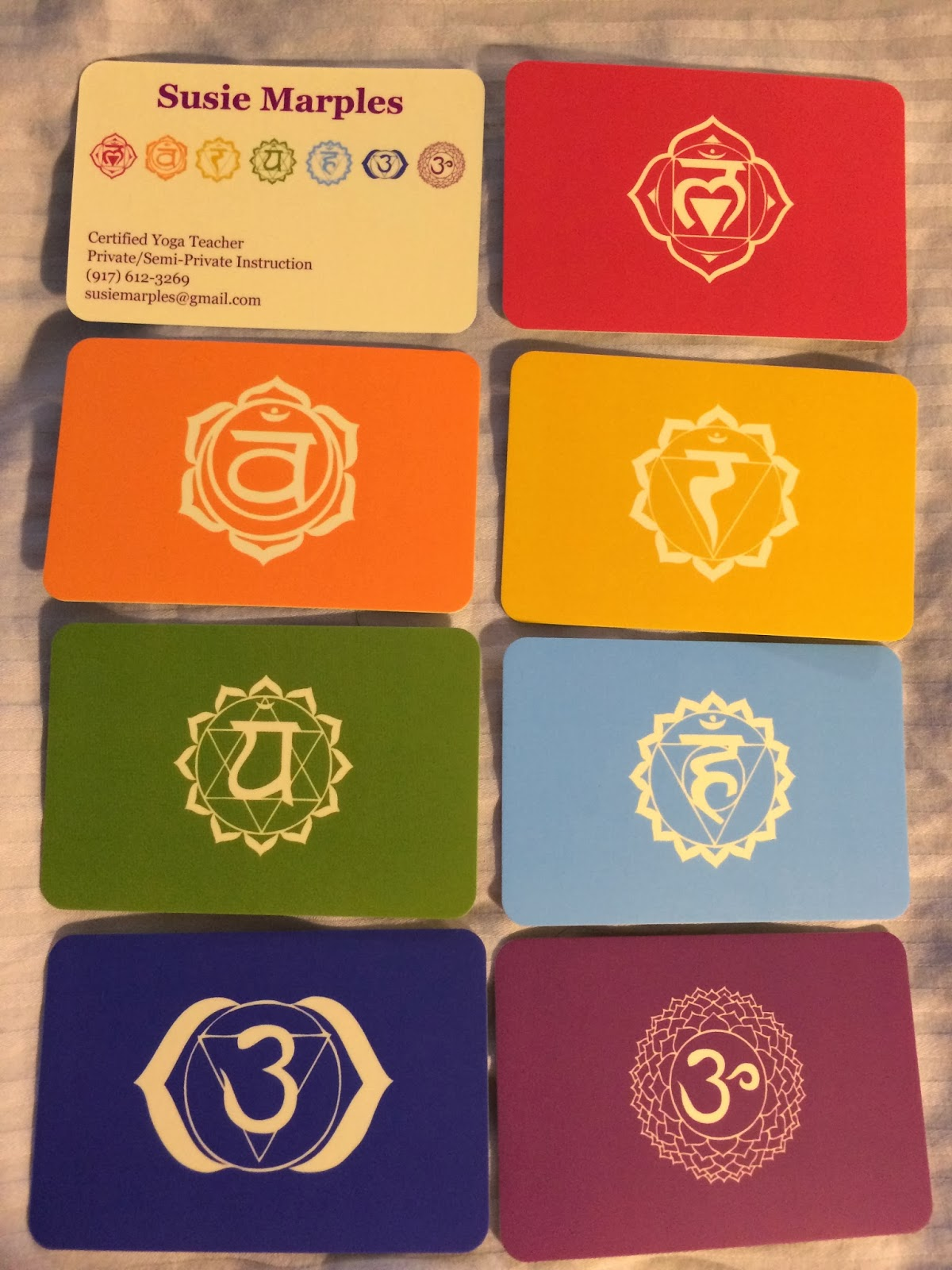 Business Cards For Yoga Teachers Gallery - Card Design And Card ...