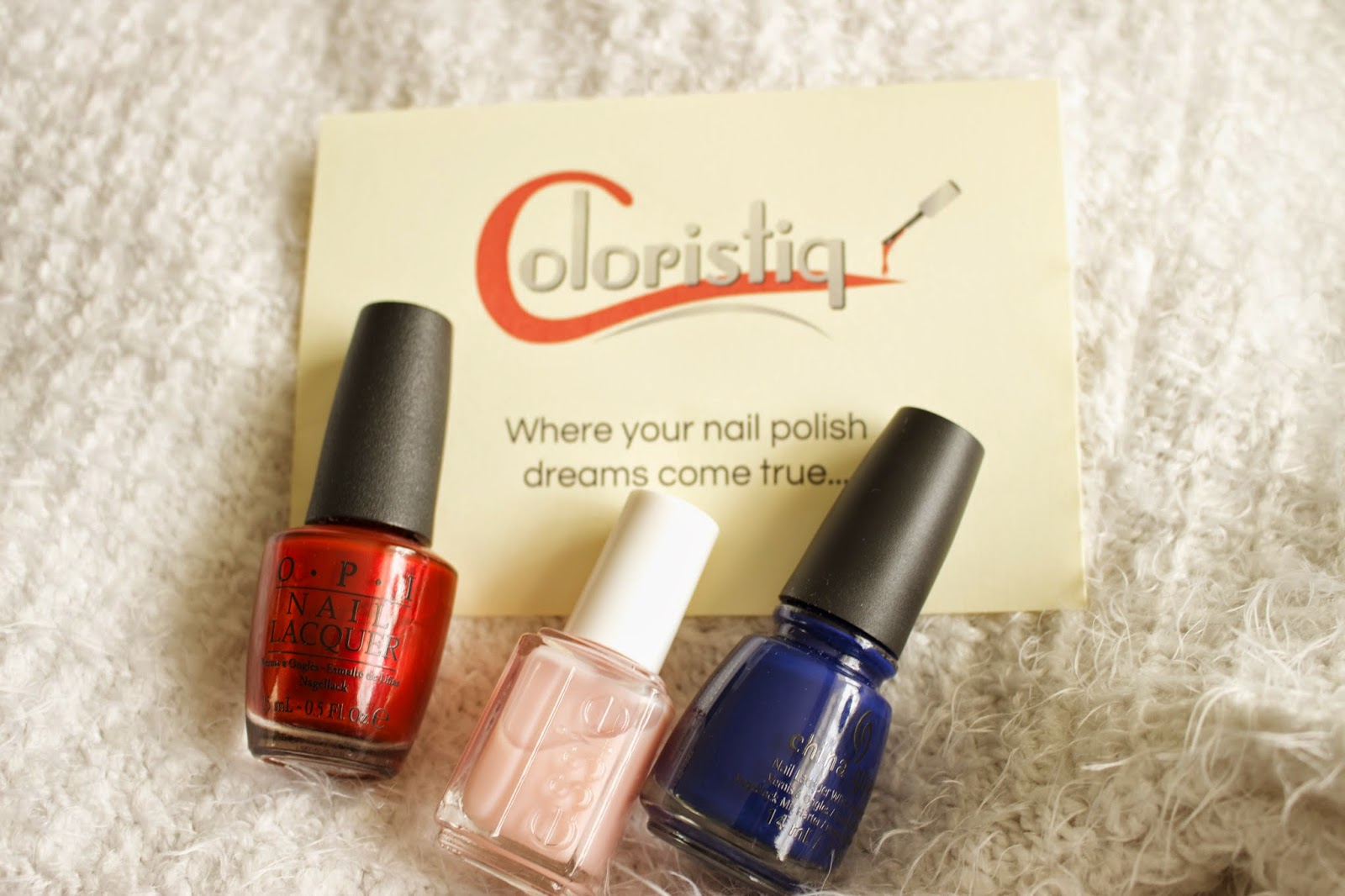 Simple Synth Coloristiq Nail Polish Box Review Rental