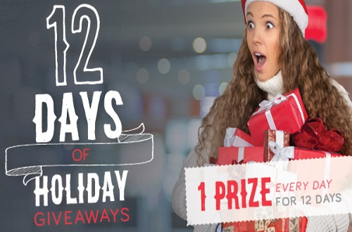 Brand Power 12 Days of Holiday Giveaways