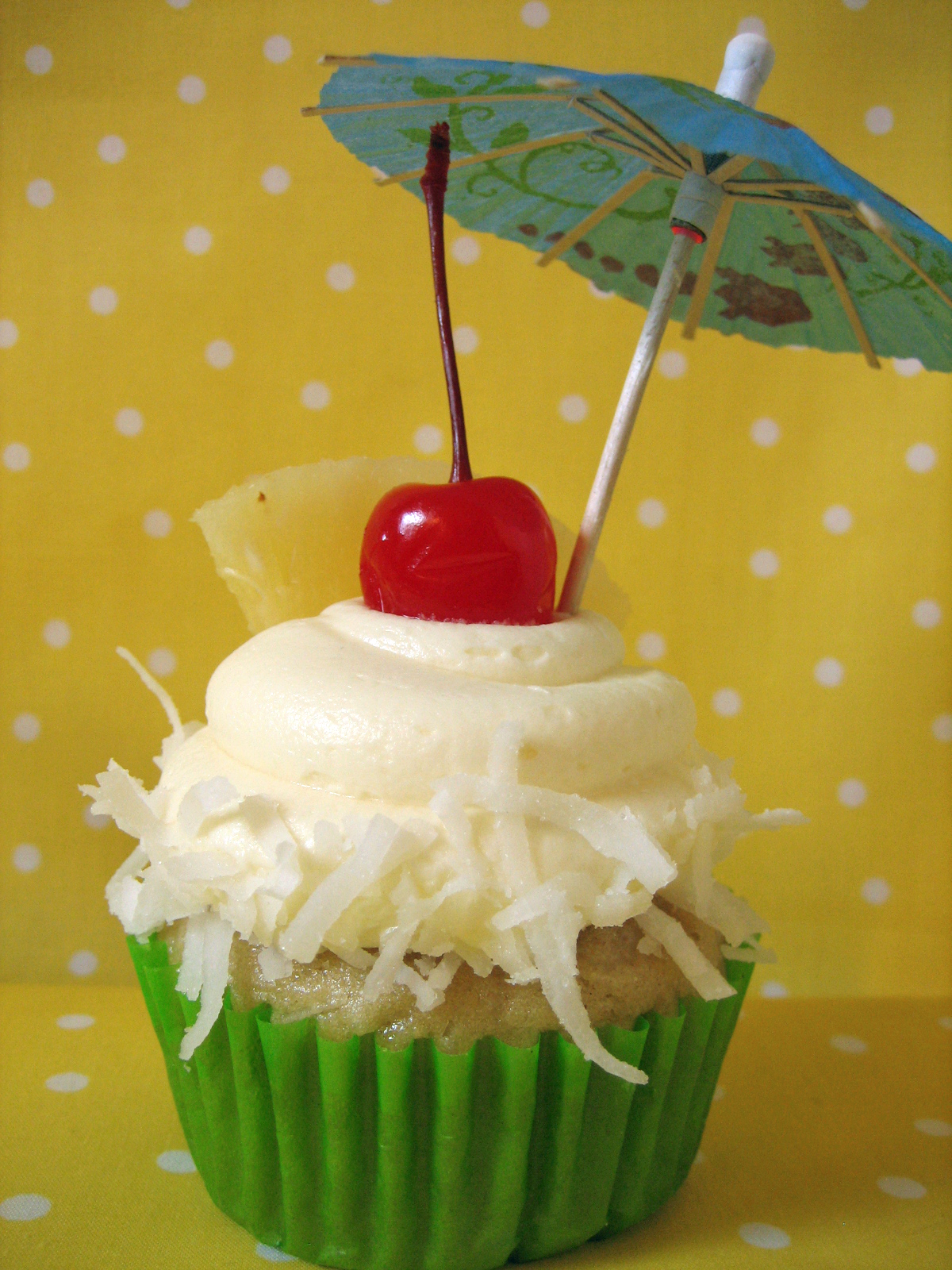 ... you than a pina colada cupcake while you are lounging pool side