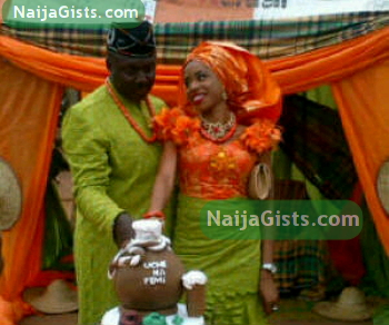 femi brainard wedding