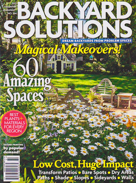 backyard solutions magazine published byharris publications of new