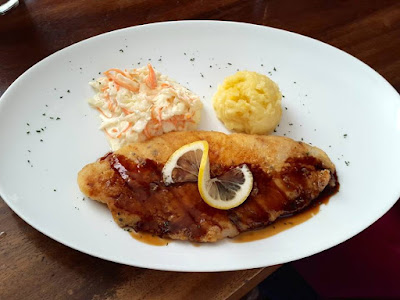 Grilled Black Pepper Dory Fish at the Container Grill Bar & Bistro Serpong
