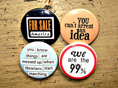 occupy wall street pinback buttons