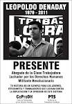 "COMPAÑERO LEOPOLDO ""POLO"" DENADAY PRESENTE!!"