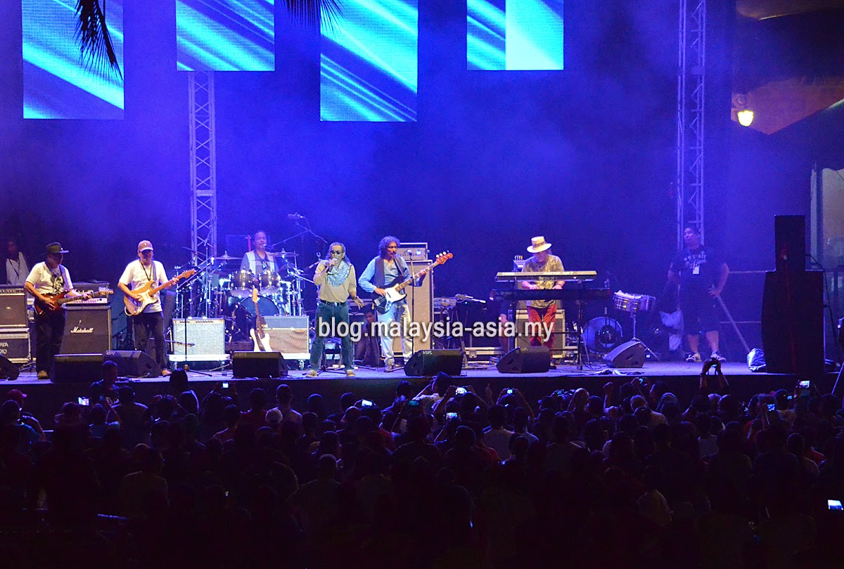 Blues Gang Live at My Music Festival 2015 Malaysia