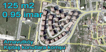 Arnavutköy kiptaş a komşu satılık  ifrazlı arsa