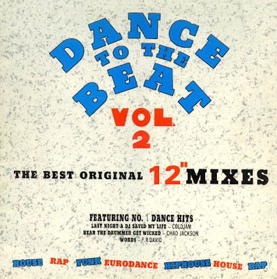 Dance To The Beat (LP) - Vol 2 - Submit To The Beat (Various Artists) 1990 euro house dance 80\'s 90\'s \