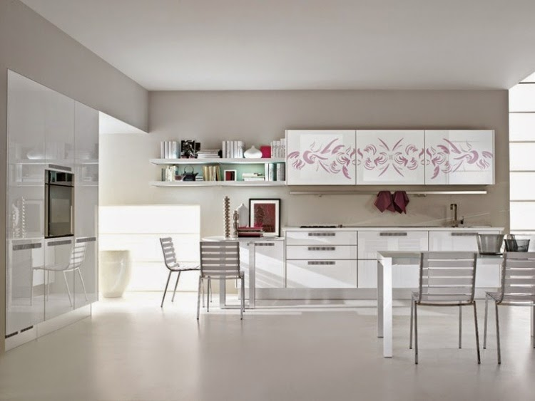 Delighful Modern Kitchen Units Like The Palette But Too For Me On