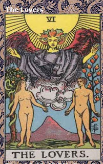 lovers tarot card july for aries oracle reading