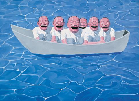Artodyssey yue minjun for Artiste peintre chinois
