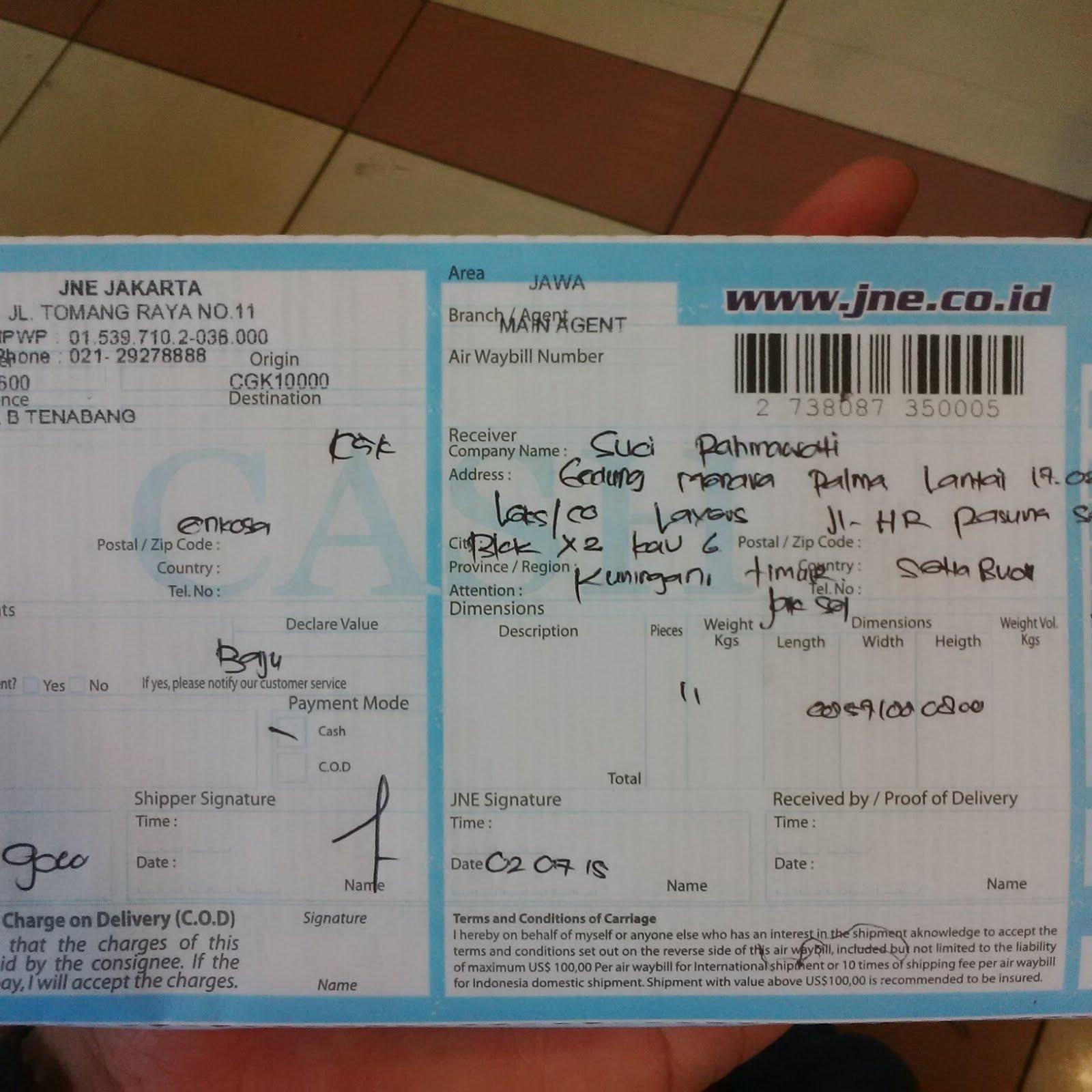 Nomer Resi Suci Rahmawati Gedung Menara Palma Lantai 17 02B Leks&Co Lawyers Jl Hr Rasuna Said Blok X 2 Kav 6 Kuningan Timur Setiabudi Jakarta Selatan