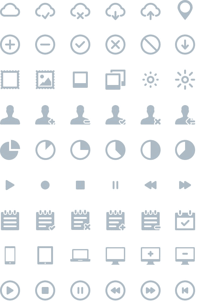 IKONS: 264 FREE vector icons