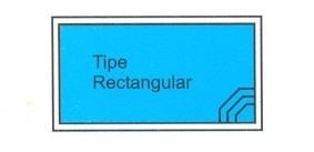 desain kolam renang tipe rectangular