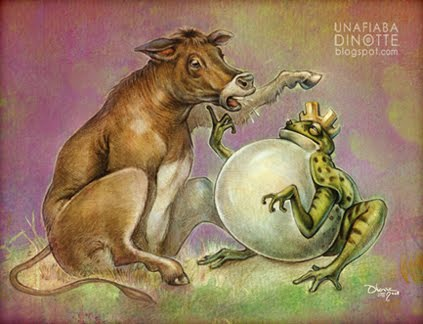 Esopo - La Rana e il Bue