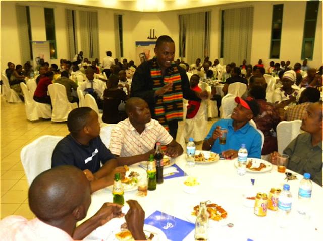Tigo SME Forum MC engages with attendees