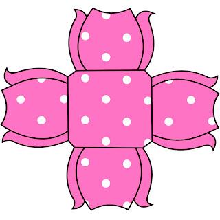poa rosa e branco