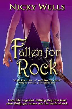 fallen for rock cover