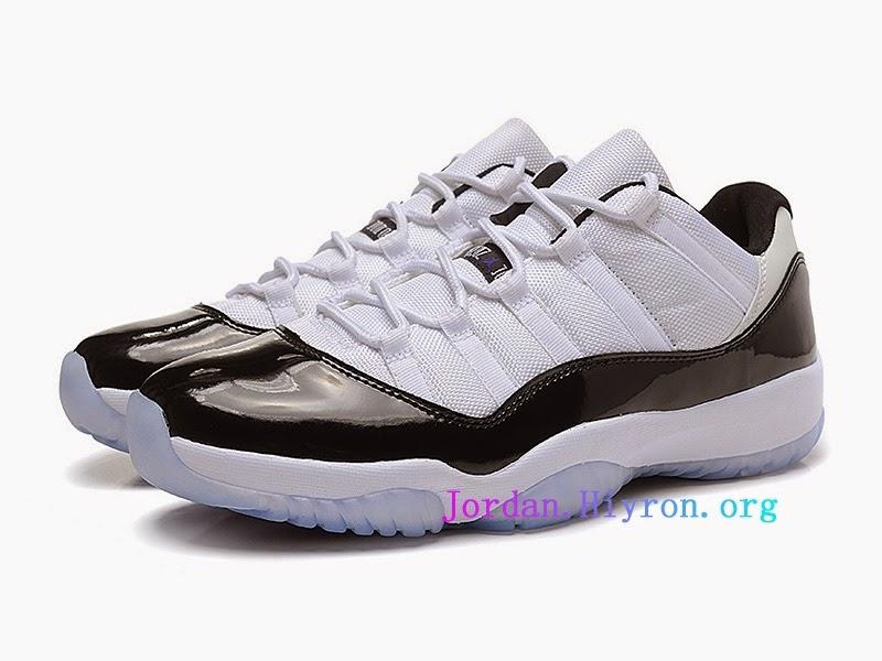 air jordan 11 retro low blanc
