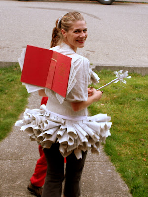 Book Fairy Costume  sc 1 st  Lilliedale & Lilliedale: Book Fairy Costume