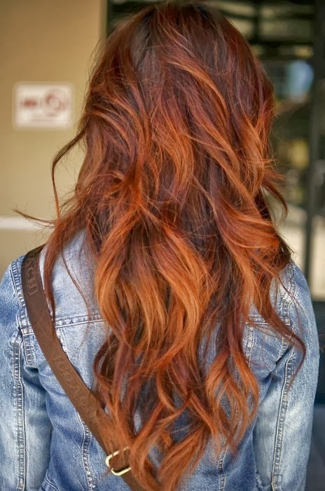 Auburn Ombre Hair An ombre is where your hair