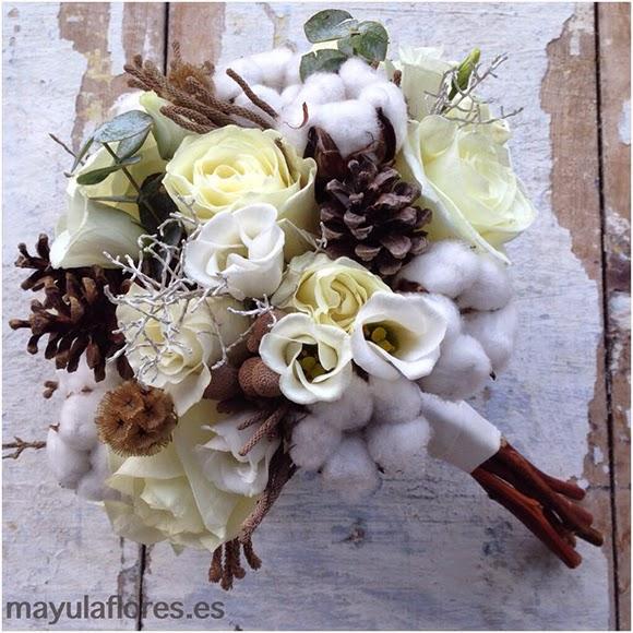 Ramo de novia de invierno by Mayula flores