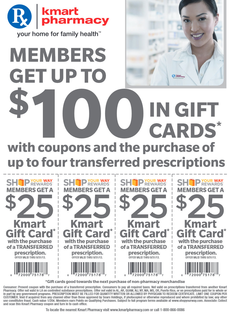 Kmart prescription transfer coupon april 2018