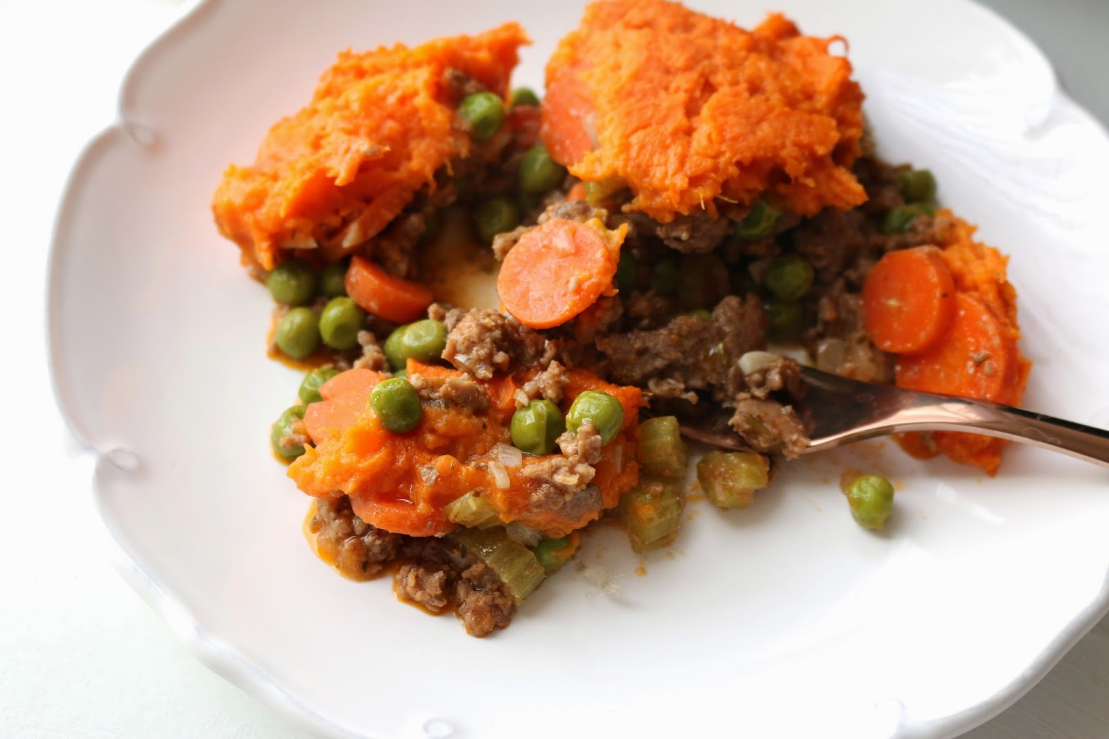 Veggie Heavy Sweet Potato Lamb Shepherd's Pie: Packed with tons of veggies and made with lamb, this easy stew is special enough to make for a celebratory dinner, yet is comforting enough to make any night of the week.