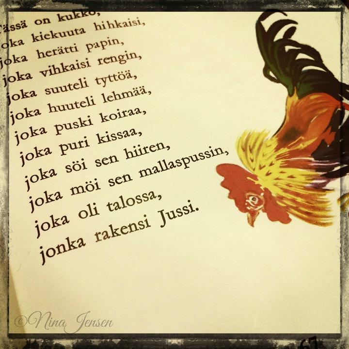 hyvää huomenta punahilkka runo