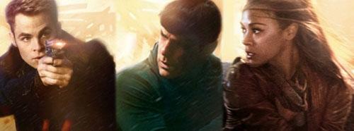 Chris Pine Zachary Quinto Zoe Saldana Star Trek Posters