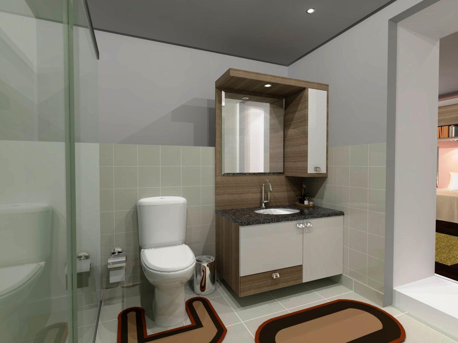 PROJETO DE MÓVEIS 3D: Guarda Roupa com entrada para Banheiro #975D34 1600 1200