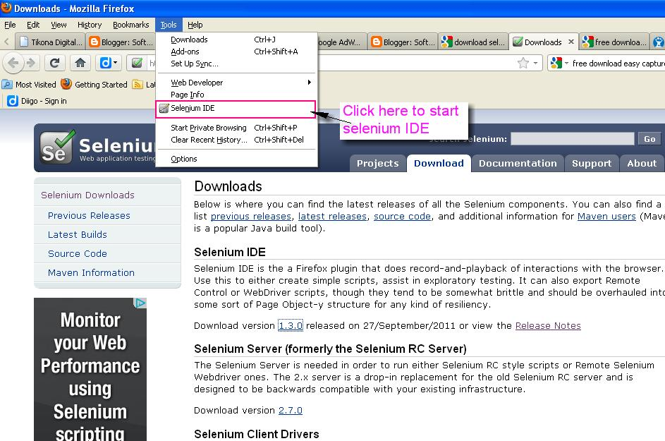 Selenium server download