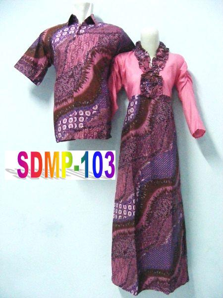 BATIK COUPLE UTK PESTA SDMP-103