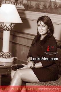 Piyumi Shanika black hot