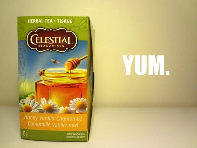 Honey Vanilla Chamomile tea, Celestial Seasonings