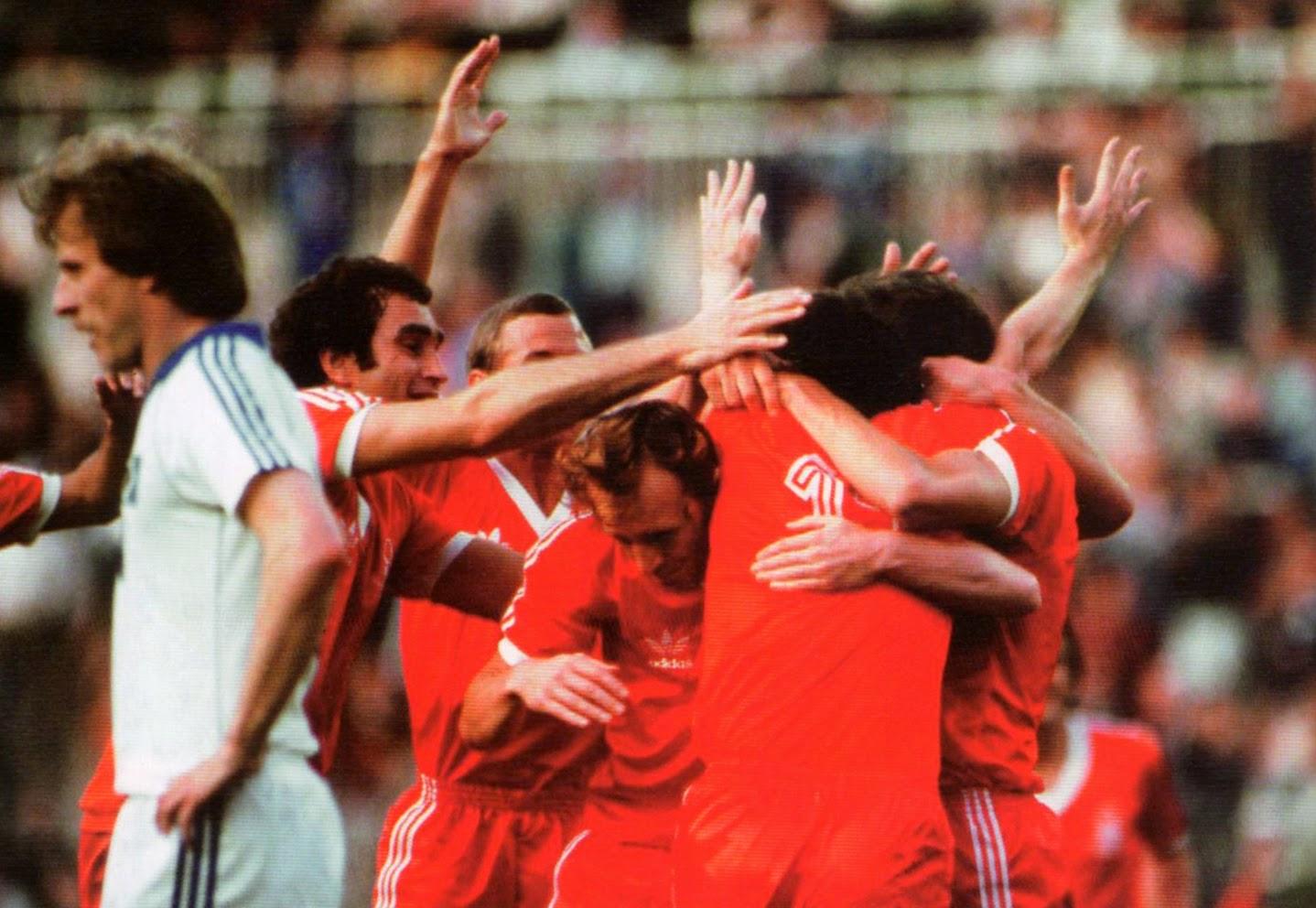 1980 European Cup Final - Hamburg v Nottingham Forest