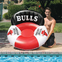 Chicago Bulls NBA Luxury Drifter Pool Float