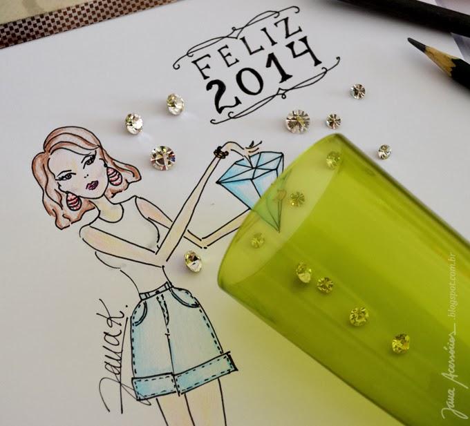 Blog da Jana, blogueira, moda, acessórios, estilo, feliz 2014, fashion, style, estilo, 2014 , new year