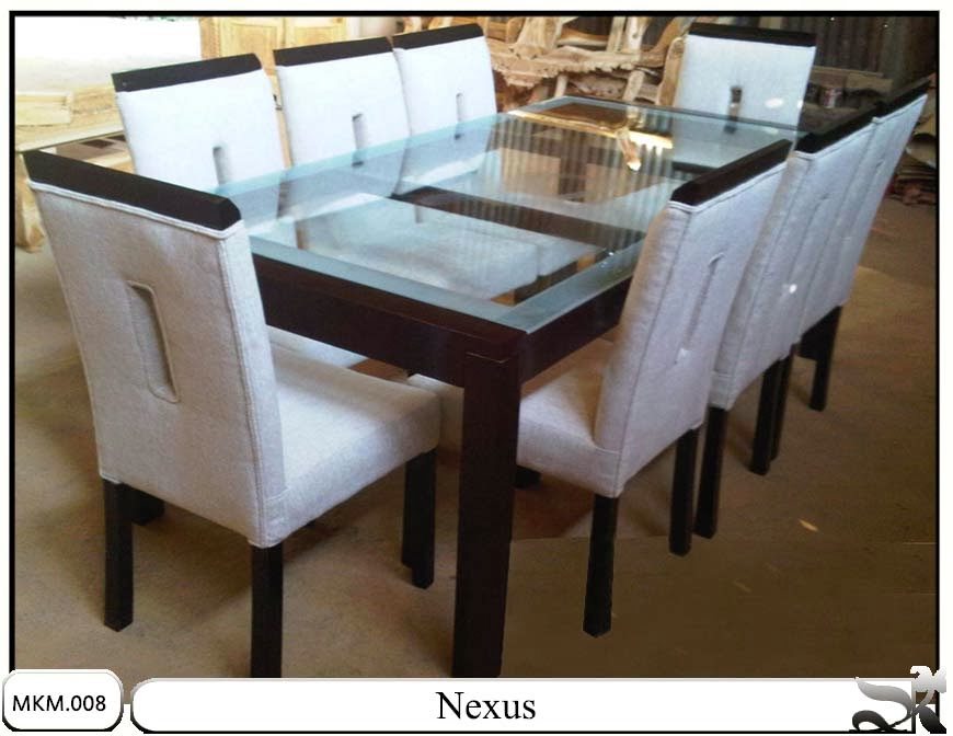Kursi makan & meja minimalis set Nexus